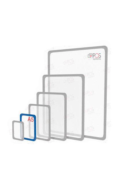 Пластиковая рамка A5 (цветная-прозрачная)