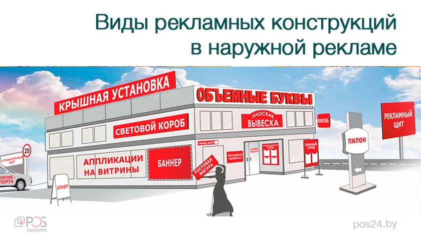 415a43b0932c1c Виды рекламных конструкций в наружной рекламе. Подробнее на | Pos24.byPos24